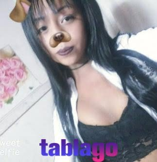 Morena travesti de 18 años, femenina
